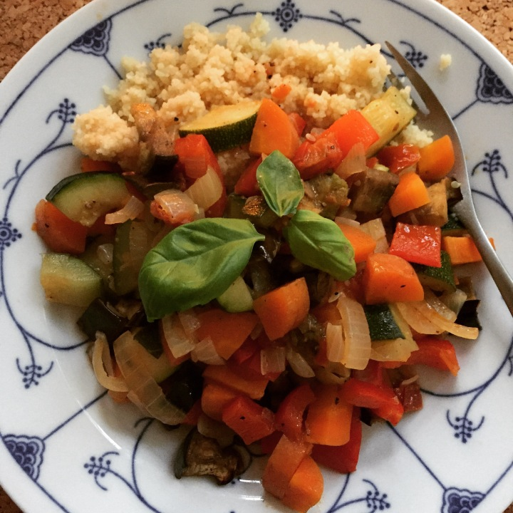 Gemüse Couscous der einfachenArt