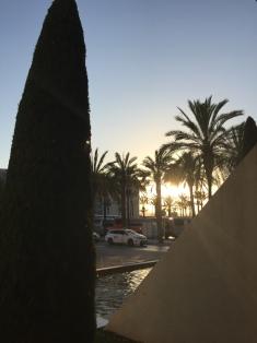Der Flughafen von Palma de Mallorca