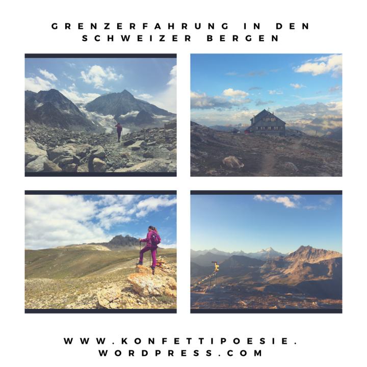 Grenzerfahrung in den Schweizer Bergen- Bergabenteuer bei bis zu 3000Höhenmetern