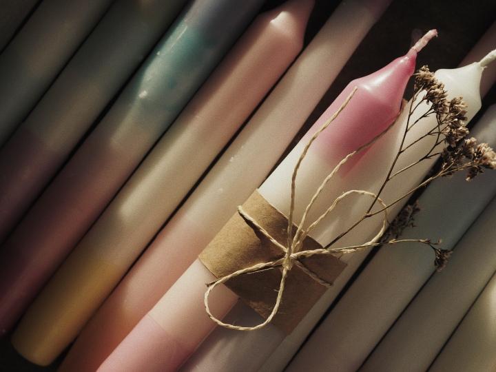 DIY Kerzen tauchen – Last Minute Geschenkidee//